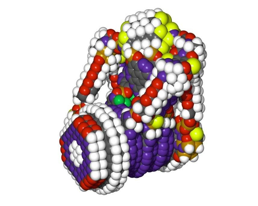 Nanomáquina ensambladora molecular (simulación por computador) Drexler