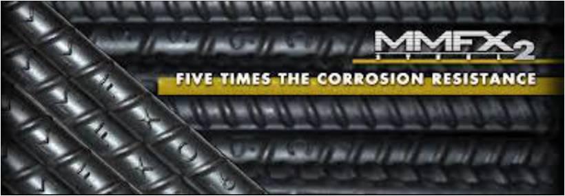 Barras MMFX2 de acero nanoestructurado