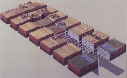 Revestimientos en túneles construidos a cielo abierto