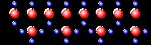 Polipropileno, estructura molecular isotáctica