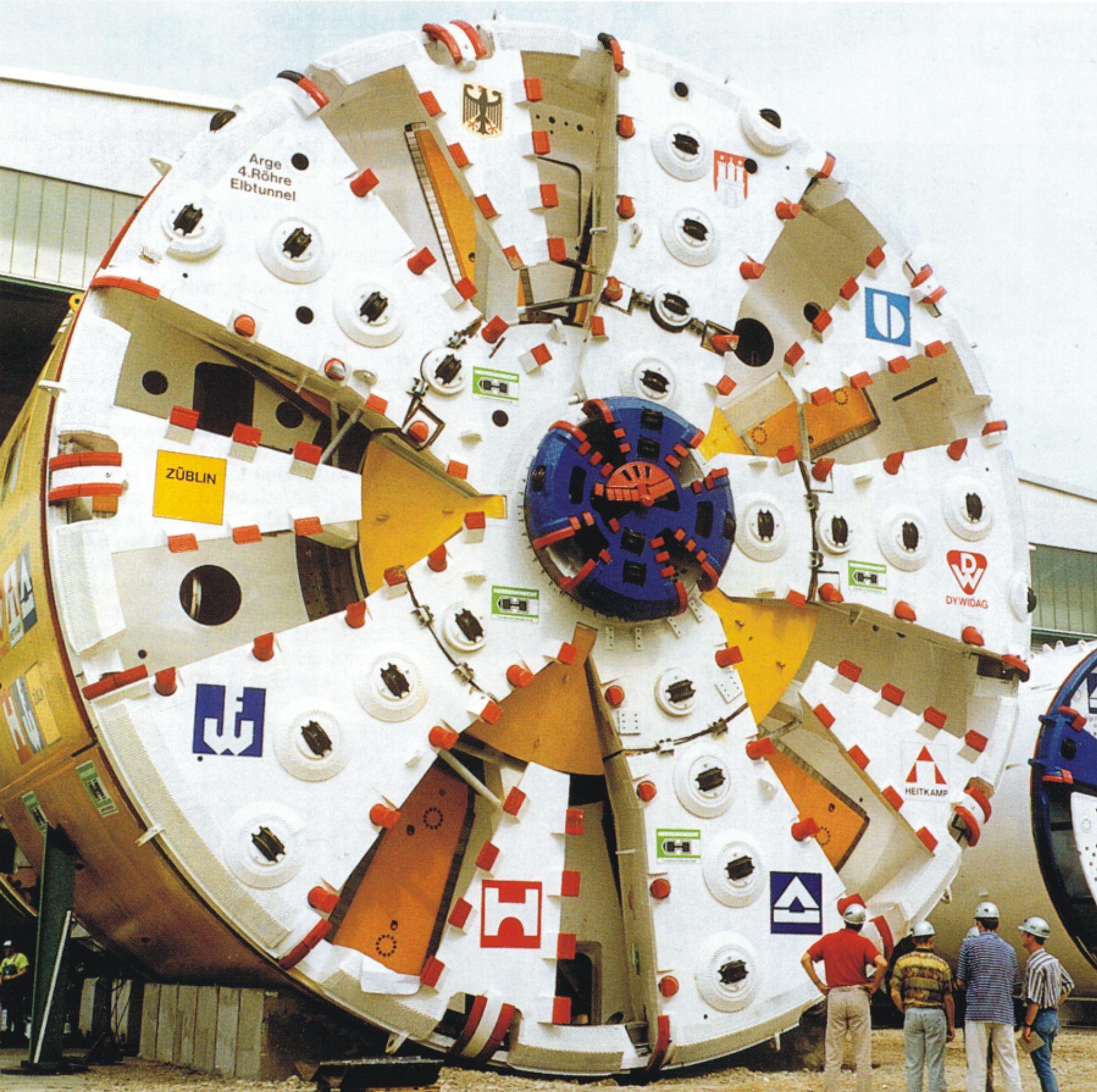 Excavación mecánica de túneles. Evolución histórica